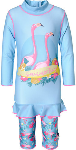 Schwimmanzug FLAMINGOS mit UV-Schutz