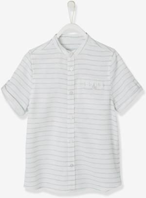 Festliches Hemd Baumwolle Leinen von