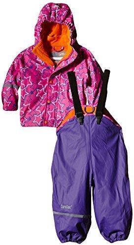 Wasserdichte Regenlatzhose -jacke Set Verschiedene Mehrfarbig