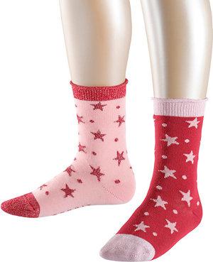 Socken Dots Stars 2er-Pack