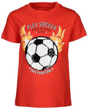 T-Shirt SOCCER mit Wende-Pailletten