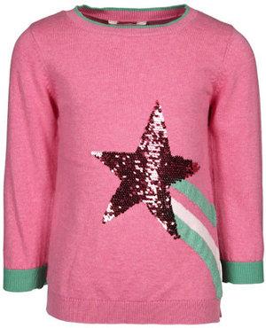Strick-Pullover MIRANDA SHOOTING STAR mit Wende-Pailletten