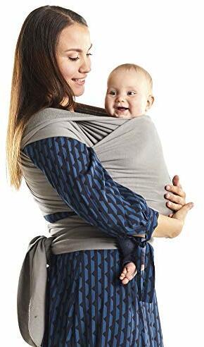 Wrap sehr Einfach Binden Ideal Neugeborene Kleinkinder Serenity Light