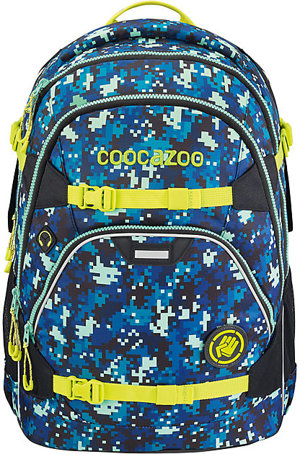 Schulrucksack ScaleRale Limited Edition Glow Bro Pixel Night