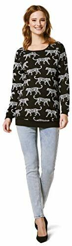 Sweater Graphic Umstandspullover Mehrfarbig