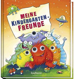Meine Kindergarten-Freunde Monster Freundebuch