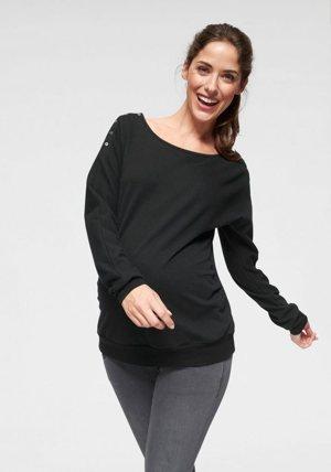 Umstandssweatshirt mit Stillfunktion