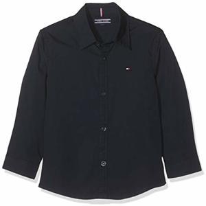 Boys SOLID Stretch POPLIN Shirt Hemd Sky Captain One Size