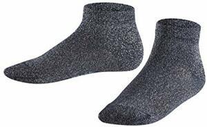 Sneakersocken Shiny Baumwollmischung Paar Marine