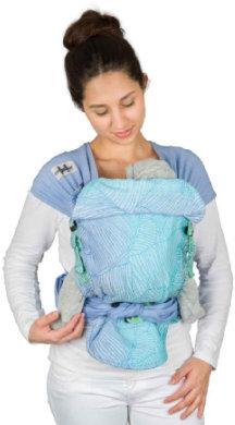 Babytrage Hop-Tye Buckle Quito Aqua Limited Edition