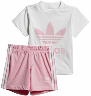 Trefoil Shorts T-Shirt Set Light