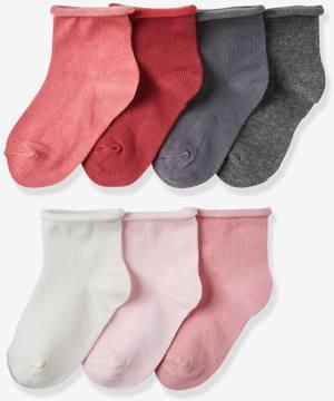 7er-Pack Socken Pfirsich von