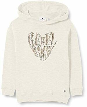 TAILOR Sweatshirt T-Shirt Off Melange