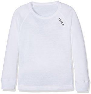Shirt Long Sleeve Crew Neck Warm Kids Unterhemd
