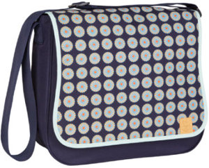 Wickeltasche Basic Messenger Bag Daisy