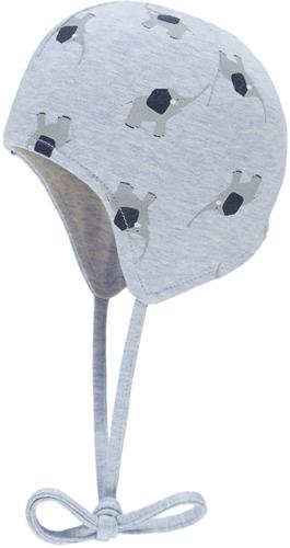 Wende-Erstlingsmütze mit UV-Schutz
