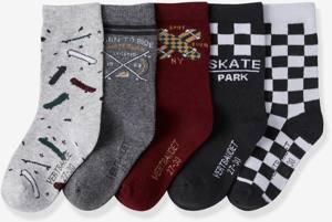 5er-Pack Socken Skate von