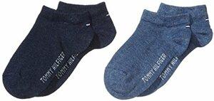 Hilfiger Sneaker Trainer Socken Jeans 2er Pack