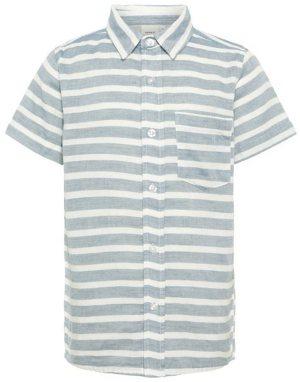 Gestreiftes Kurzärmeliges Hemd