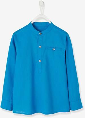Festliches Hemd Leinen Baumwolle von