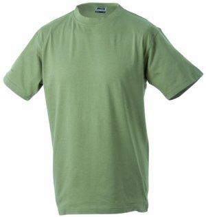 Nicholson Junior Basic Rundhals T-Shirt Khaki