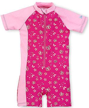 Schwimmanzug mit UV-Schutz Mehrfarbig Kleinkinder
