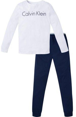 Pyjama GRAPHIC mit Logo-Print auf der Brust