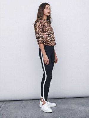 Leopardenprint Bomberjacke
