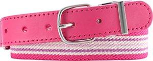 Elastischer mit Echtem Leder pink