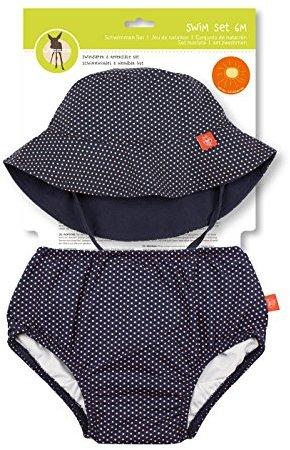 Bade Wendbar Schwimmwindel Waschbar Auslaufschutz UV-Schutz Swim Girls Polka Dots