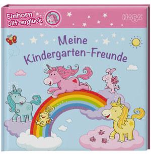 Meine Kindergarten-Freunde EINHORN GLITZERGLÜCK bunt