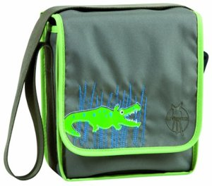 Mini Messenger Bag Kindergartentasche Crocodile Granny