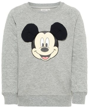 Disney Mickey Mouse Print Sweatshirt