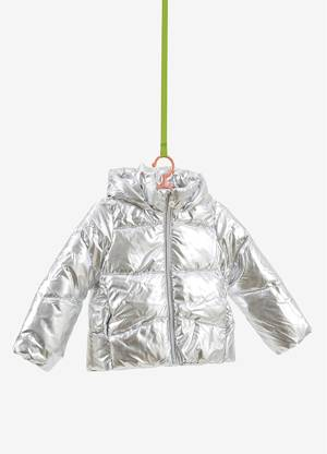 Winterjacke Silber Outdoor