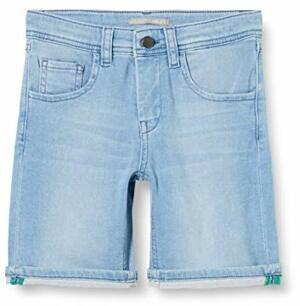 Boys Shorts Denim Light Wash
