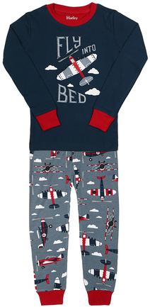 Schlafanzug NIGHT FLIGHT 2-teilig lang