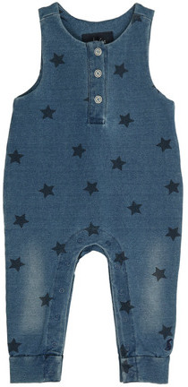 Sweat-Latzhose FRANKIE STARS Denim