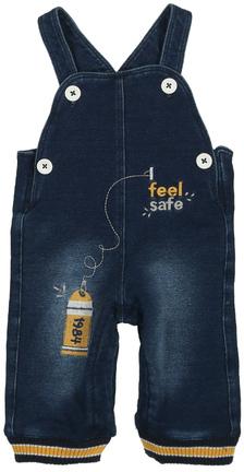 Jeans-Latzhose FEEL SAFE Gefüttert Denim