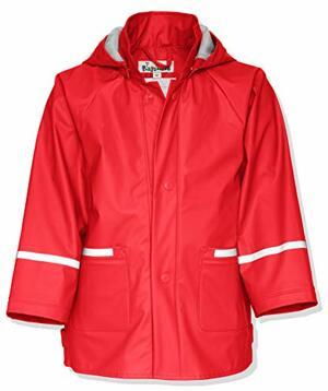 Regenjacke Basic Impermeabile Bambini Rosso