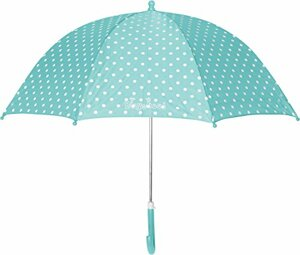 Regenschirm One Size mit Kindgerechtem Mechanismus Türkis