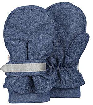 Fäustel Gants Bleu Tintenbl Mel Gar Handschuhe
