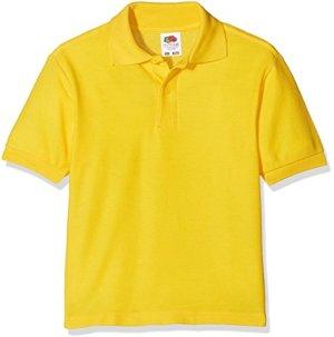 Poloshirt Kids Sunflower