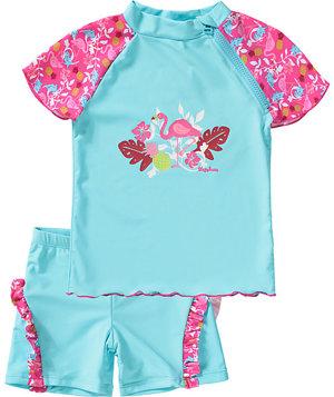 Schwimmanzug Flamingo UV-Schutz