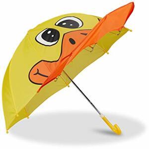 Kinderregenschirm mit Ente Kleiner Stockschirm