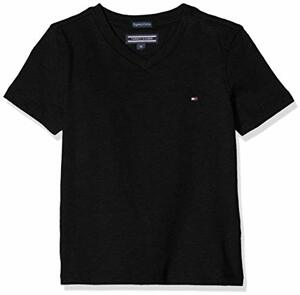 Hilfiger Boys Basic Knit T-Shirt Meteorite