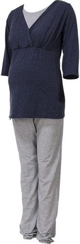 Stillschlafanzug Wellness Meliert