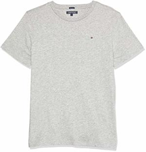 Hilfiger Boys Basic Knit T-Shirt Heather