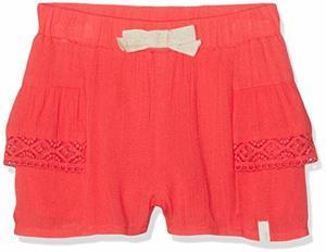 Shorts Fluide Rouge Clair