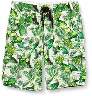 Boys Shorts Tropical Printed
