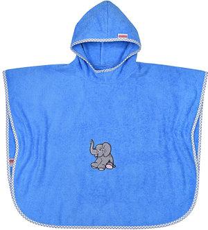 Badeponcho Elefant Veilchen Kleinkinder